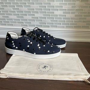 NWT WANT Les Essentiels Lennon Leather Sneaker